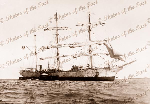 3M Barque NOTRE DAME D'AVOR. Built 1902. Shipping