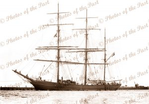 3M Barque ROTHESAY BAY. Ship. Built 1877