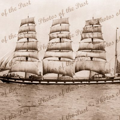 4M Barque MEDWAY. Ship