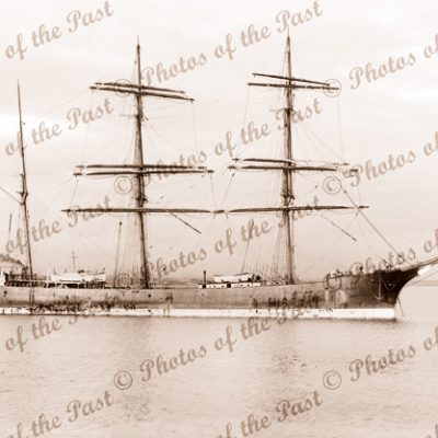 3M Barque ELFRIEDA ex SAXON. Built 1893. Ship