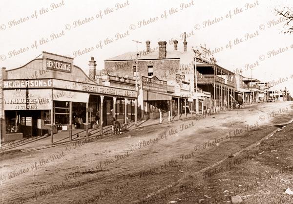Main Street, Drouin, Vic. c1920. Victoria.