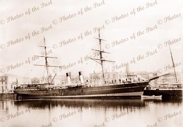 SS ALBION Trans Tasman trader. Ship