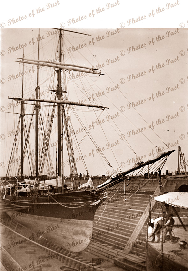 Duke & Orr's Dry Dock, Melbourne, VIC. Victoria. Shipping