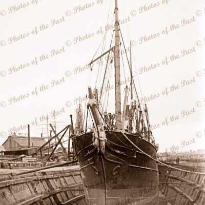 Duke & Orr's Dry Dock, Melbourne, VIC. Victoria. Shipping