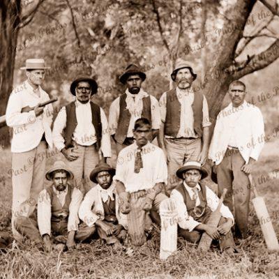 Aboriginal cricket team, Victoria. c1900s
