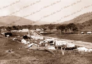 Tallangatta township, Vic.Victoria. 1890s