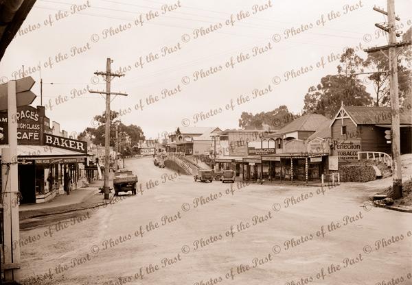 Main Street, Belgrave, Vic.Victoria. c1950s