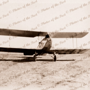 Avro 594 Avian 111 at Denilquin, Victoria. 1929. Aviation