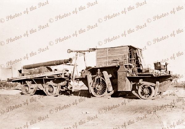 Big Lizzie at Red Cliffs, Vic.Victoria. Giant Tractor. 1923
