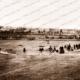 W.G.Grace's England Eleven Vs S.A.C.A. Adelaide Oval, SA. March 1874. Cricket. South Australia