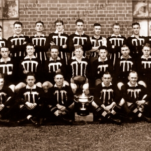 Port Adelaide Football Club A Team plus names. South Australia. 1936. Aussie Rules SANFL