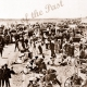 Henley Beach showing large crowd. View to Grange, SA. South Australia. c1900