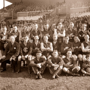 Carlton Football Club, VIC. Victoria. Aussie Rules VFL. 1939