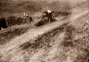 Motor bike racing at Seacliff, SA. South Australia. 1928