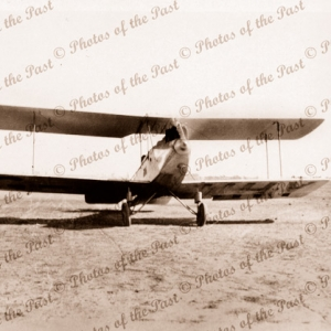 Avro 594 Avian III at Denilquin Vic.Victoria. Plane. Aviation. 1929