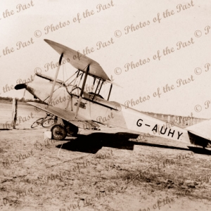 Avro 594 Avian III at Denilquin Vic.Victoria. Plane. Aviation. 1929. G-AUHY