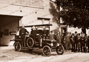 Opening of Tanunda Fire Brigade, SA. 1928