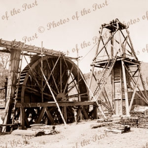 New Wallan deep lead Gold Mine. Victoria. 1880