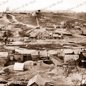 Castlemaine goldfields. Vic. Victoria c 1861