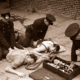 Fire drill. Resusitation, c1940s