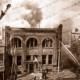 Fighting the Dunlop Fire, Flinders Street, Adelaide, SA. 21 October 1940