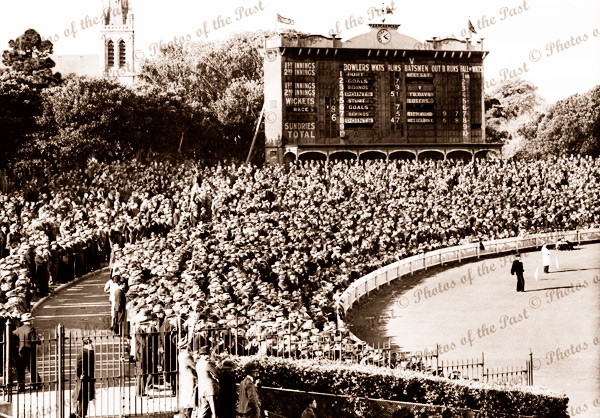 Adelaide Oval, SA. 2nd Semi final Port vs Sturt. Sturt won by 3 points. September, 1940. Australian Rules Football. SANFL. South Australia