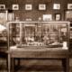 Old Port Adelaide Maritime Museum, SA. Model of tug CONQUEROR. South Australia. 1953