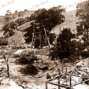 Talisker lead & silver mine near Cape Jervis, SA. South Australia. C1910s
