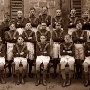 Scotch College Under 13 Football team. South Australia. 1926. school