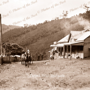 Cadan's Hotel, Lauraville, Vic. Name changed to Gaffneys Creek in 1900, Victoria, c1890s