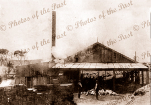 Backhouse's Junction North timber mill Second Valley, South Ausralia, 1919
