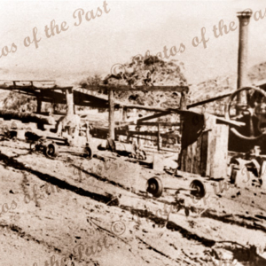 Backhouse (Junction North) sawmill in Second Valley forest, South Australia. c1920