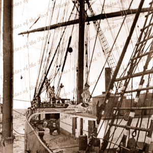 4 masted barque POMMERN, at Port Victoria, South Australia. February 1937