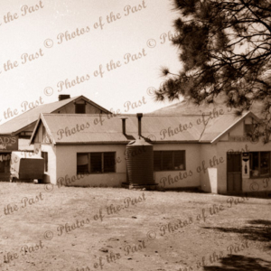 Jetty House Second Valley with extensions. South Australia, 1954