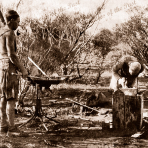Blacksmith, Australian goldfields 1935