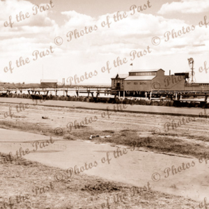 Hot Sea Baths at Williamstown, Victoria 1930s