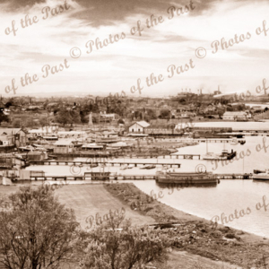Foreshore and small boat yards, Williamstown, Victoria. c1940s