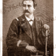 Captain MacLaughlan. Second in command. Port Breton, New Ireland, Papua New Guinea. Etching, c1880