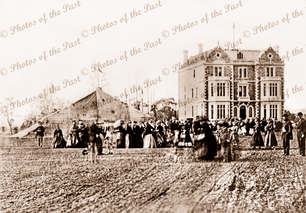 Prince Alfred College opening. SA. South Australia. 1869