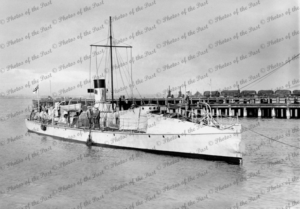 "1st Class Torpedo Boat COUNTESS of HOPETOWN 3x14"" Torp' tubes. c1919."