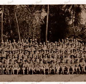 RAAF group photo taken in Darwin, c1940s. Northern Territory. World War 2