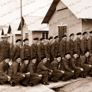 16th Batallion , National Servicemen at Woodside, SA. South Australia. 1950s