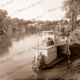 Unknown paddle steamer on river