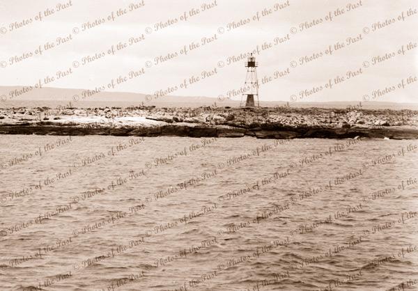Dangerous Reef Lighthouse, Spencer Gulf, SA. South Australia