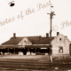 Quorn Railway Station, SA. Flinders Rangers, South Australia. 1940s