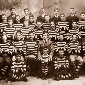 Federal Rovers Football Club. Minor Premiers YPFA Runners-up Fulton Shield, SA. Yorke Peninsula. South Australia. 1910. Aussie Rules.