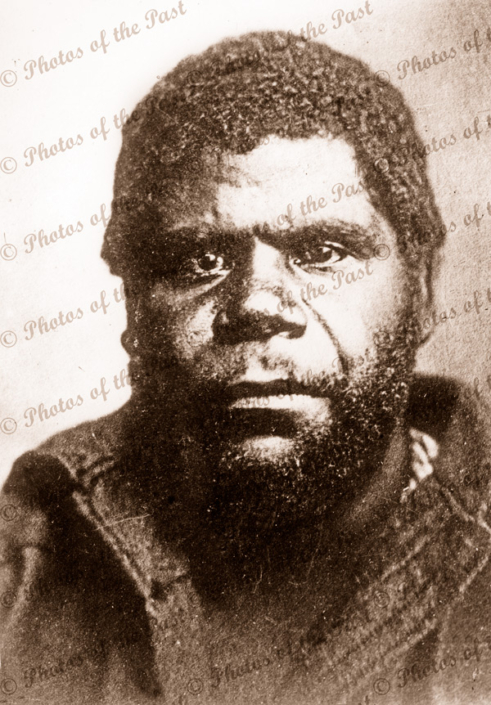 William Lanne (King Billy) Last Tasmanian Male Aborigine