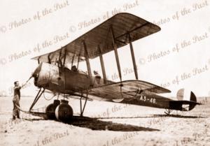AVRO 504K Bi-plane A3-46