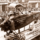 Cobham's DH-50J minus wings being paraded in London. 1926
