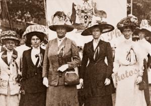 Australian Suffragettes in London, 1911